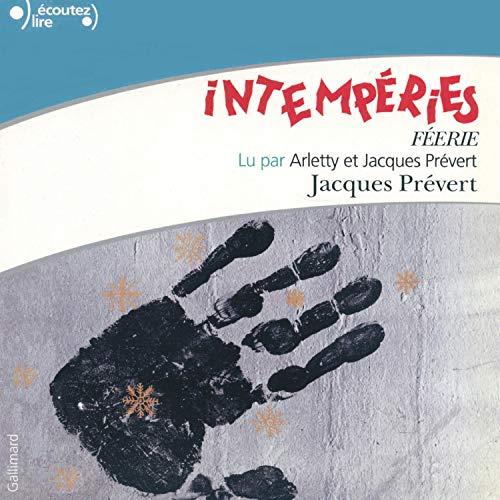 Page de couverture de Intempéries