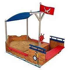 KidKraft 128 Piratenschiff Sandkasten aus