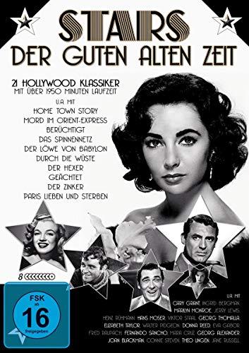 Stars der guten alten Zeit - 21 Hollywood Klassiker [8 DVDs]