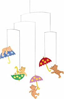 Flensted Mobiles Hugging Bears Hanging Nursery Mobile - 20 Inches Cardboard