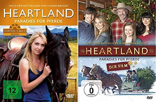 Heartland Staffel 1-7 Box + Kinofilm (1+2+3+4+5+6+7, 1 bis 7) [41 DVDs]