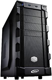One Silent Gaming–Ordenador de sobremesa (Procesador Haswell Core i5–4670, 4x 3,40GHz (Quadcore), 8GB de RAM DDR3, 2000GB, disco duro S-ATA III, WLAN de 300MBit, placa base MSI Z87-G43, lector de tarjetas, grabadora de DVD, AMD Radeon HD 77701024MB PCI-E, DVI, HDMI, sonido 7.1, Gigabit LAN, USB 3.0 i7-7700/SSD/DVDRW Ningún sistema operativo