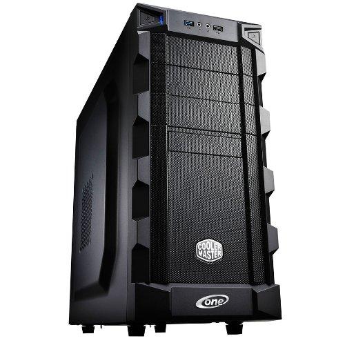 One PC Aufrüst-PC | AMD FX-Series Bulldozer FX-8350, 8x 4.00GHz | montiertes Aufrüstset | Mainboard: Gigabyte GA-78LMT-USB3 | 16 GB RAM (2 x 8192 MB DDR3 Speicher 1600 MHz) | CPU Mainboard Gehäuse Bundle | Grafik: 4096 MB NVIDIA GeForce GT 730, DVI, HDMI, VGA | Gehäuse: Cooler Master K280 USB3.0 | 600 Watt LC-Power, 120mm leise | komplett fertig montiert inkl. 24 Monate Garantie!