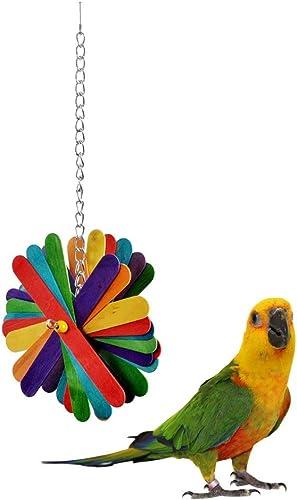 Taiyo Pluss Discovery Birds Toys/Natural Wooden Colourful Sticks and Beads/TAIYO PLUSS DISCOVERY