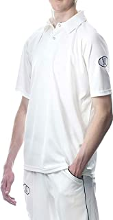 ND Premium Cricket Shirt Off White Cream Short Sleeved 3XS-XXL
