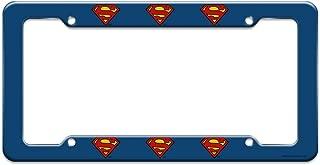 Best superman license plate frame Reviews