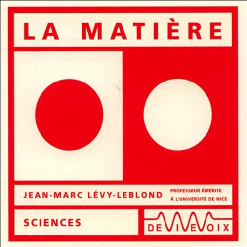 La Matière  audiobook cover art