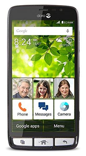 Doro 824 Android fácil de usar y apto para personas mayores ...