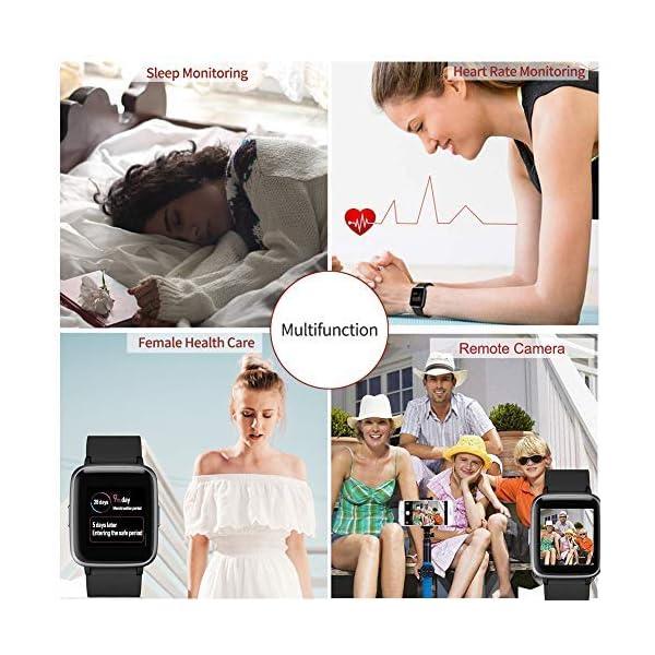 Reloj Inteligentes, YAGALA IP68 Smartwatch, Pulsera Deportiva Inteligente Para Niños y Niñas, Con Contador De Calorías… 4