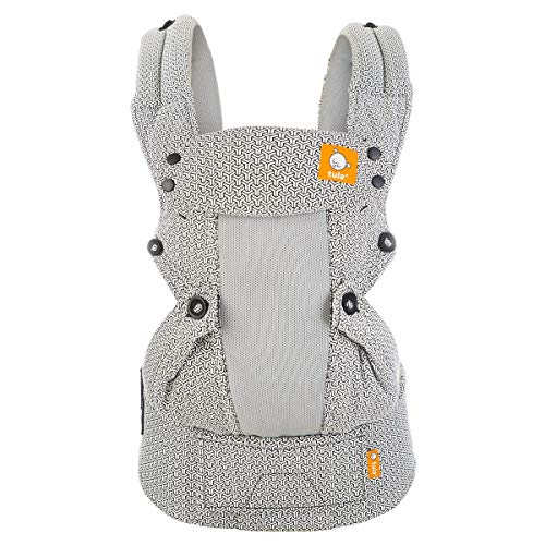 Baby Tula Coast Explore Mesh Baby Carrier, Adjustable Newborn to Toddler Carrier, Ergonomic and Multiple Positions for 7 – 45 pounds (Coast Infinite)