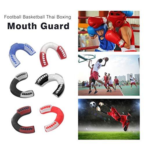 fgjhfghfjghj EVA Mouthgard Deporte Fútbol Baloncesto Tailandés Boxeo Protector bucal Adulto Gimnasio Lucha Dientes orales Proteger los Dientes Guardia