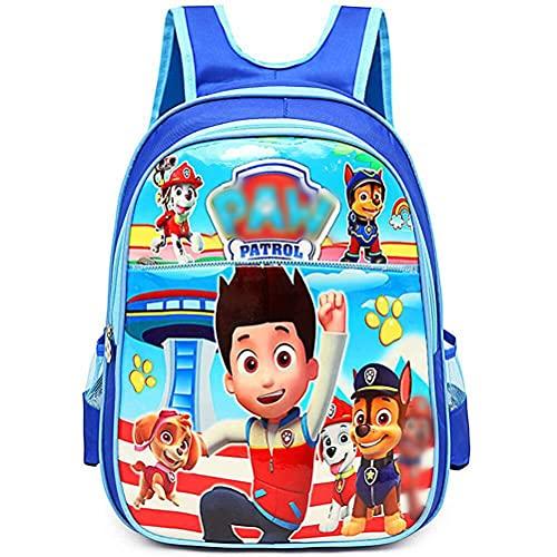 Mochilas Infantiles Guarderia Mochilas Infantiles Patrulla Canina Bolsas Escolares De Dibujos Animados para Niñas Y Niños...