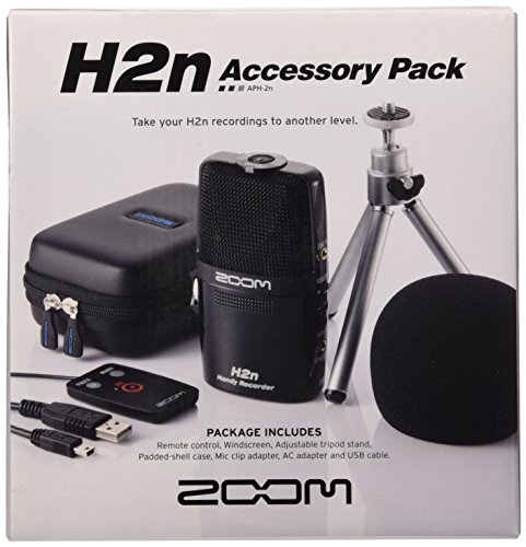 Zoom 307687 - Kit de accesorios para grabador de sonido digital, color negro