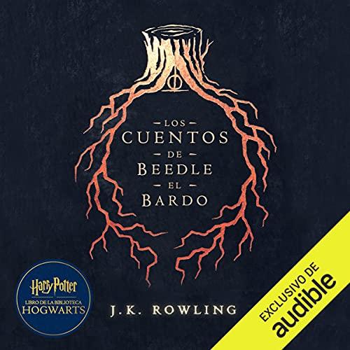 Diseño de la portada del título Los cuentos de Beedle el bardo