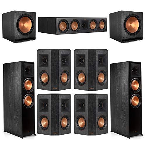 Discover Bargain Klipsch7.2.2 Ebony Home Theater System - 2 RP-8060FA, 1 RP-504C, 4 RP-402S, 2 SPL...