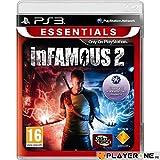 Sony InFamous 2 Essentials, PS3 - Juego (PS3, PlayStation 3, Acción / Aventura, T (Teen))