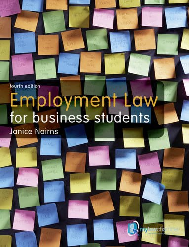 Employment Law for Business Students: Uk Edition