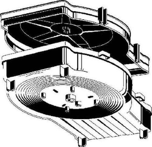 Kaiser kompax-1Schutzhülle für HORMIGON Werk