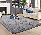 ACTCUT Super Soft Indoor Modern Shag Fur Area Rugs Fluffy Rugs Anti-Skid Shaggy...