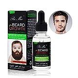 Beard Oil, Duvina Bartöl und Conditioner für Männer zur Bartpflege rein natürliche Bartpflege Intensive Bartpflege Natürlich Biologisch Bart Öl Natürliches organisches Haarwachstumsöl...