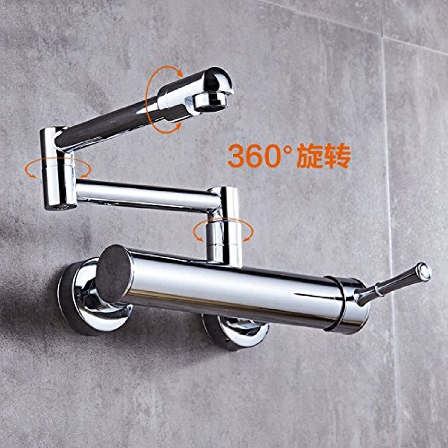Hlluya Professional Sink Mixer Tap Kitchen Faucet redate the stretch fold dish washing basin orientation and cold water taps into the wall