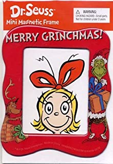 grinch picture frame