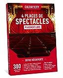 Cultur'In the city Coffret Cadeau - 4 Places - 800 Spectacles DECOUVERTE - 300 Salles Partenaires Partout en France Théâtre, Comédie, One Man Show, Danse, Magie (4)