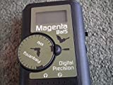 The Magenta 'Bat5'. Digital Quartz Bat Detector locater listener, Black,
