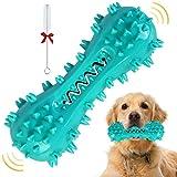 yhmall giochi da masticare per cani spazzolino cani giochi cani indistruttibile gioco cane con squeak, gomma non tossic giocattolo masticabili per cane di taglia media e grande