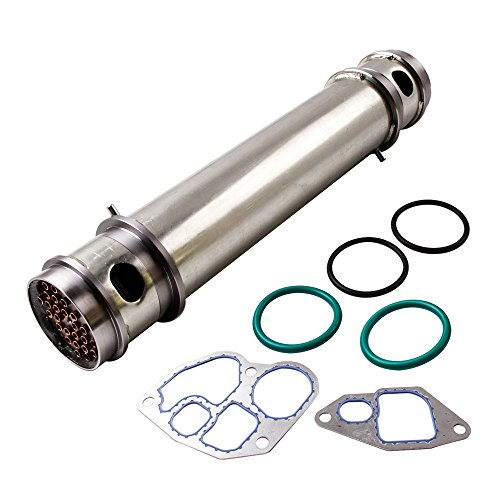 maXpeedingrods Oil Cooler for Ford F250 F350 F450 F550 E250 E350 E450 1994.5-2003 V8 7.3L 445CU Diesel Engine with Gasket and Seals 904225 1C3Z-6A642-AA