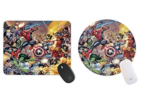 JNKPOAI Marvel The Avengers 2 Age of Ultron Personalized Custom Gaming Mousepad Rectangle Mouse Mat / Pad Office Accessory and Gift Design-LL762