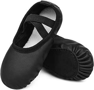 STELLE Ballet Dance Shoes Slippers for Kids Toddler