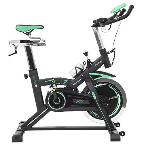 Cecotec Bicicleta Indoor Extreme 25. 25kg Volante inercia, Pulsómetro,...