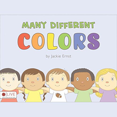 Many Different Colors audiobook cover art