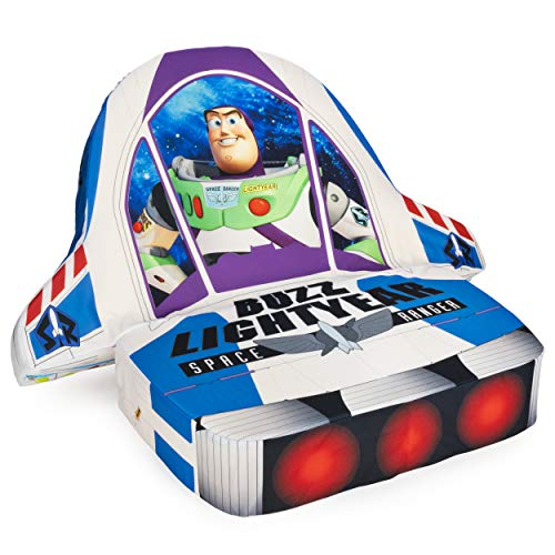 Marshmallow Furniture, Children'S 5-in-1 Buzz Lightyear Transforming Chair, Disney's Toy Story 4, Multicolor