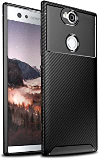 Sony Xperia XA2 Plus Case,Sony Xperia XA2 Plus Case, Hybrid Armor Case with Air Cushion Technology and Secure Grip Drop Protection for Sony Xperia XA2 Plus (Black)