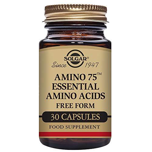 Solgar Amino 75 con Aminoácidos esenciales Cápsulas vegetales - Envase de 30