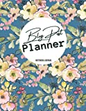 """blog post planner: Blog Planning Notebook Journal - Content Calendar & Post Organizer - Social Media Marketing, Daily Blog Content Creator Notebook -Gift for every blogger- size: 8.5"""" x 11- 120 Pages"""