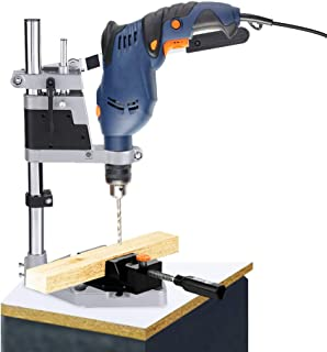 Universal Drill Press Stand, Stable and Reliable, Bench Clamp Adjustable Drill Press Stand, for Power Drills with a Collar...