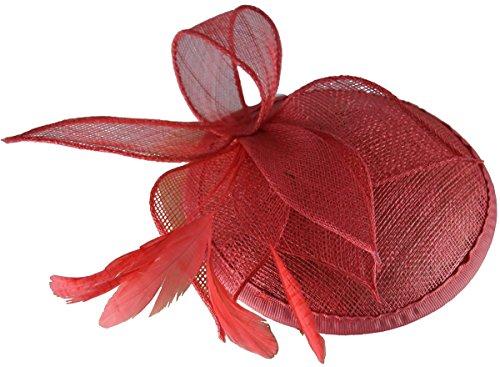 Les femmes bibi sur le bandeau en Corail pour les mariages/Courses & Occasions - 14x6 cm