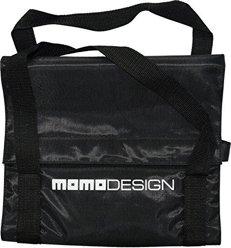 Momo mmmommobi00620, tas voor scooter Unisex - volwassenen, zwart, 6,5