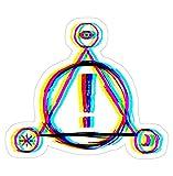 P!ATD Logo Decal Sticker - Peel N Stick Sticker Graphic Decal