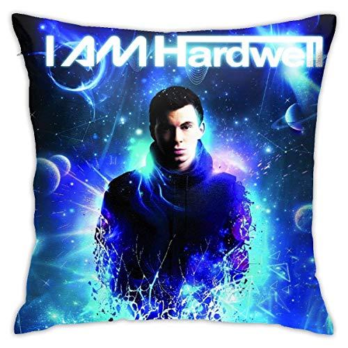 Hardwell Pillowcase Soft Breathable Home Decor Comfortable and Durable Kissenbezüge 16x16Inch(40cmx40cm)