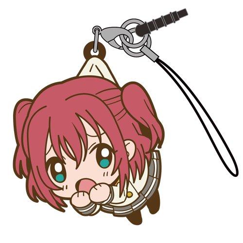 Love Live Sunshine Ruby Kurosawa in Aquarium Costume COSPA Pinch Tsumamare Phone Strap Charm with Dust Plug Anime Art Collection