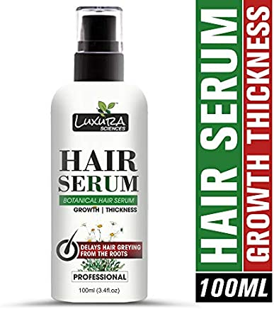 Luxura Sciences Natural Hair Tonic/Serum to Delay Hair Greying 100 ML.
