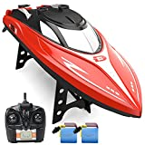 DEERC H120 RC Boat Remote Control Boats for Pools and Lakes,20+ mph...