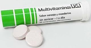 MULTIVITAMINAS PH con 20 comprimidos efervescentes. 10 vitaminas que te aportaran energía y vitalidad.