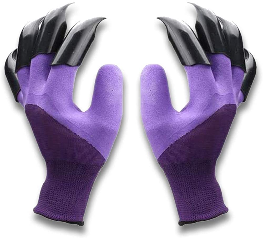Garden Gloves Claws and Waterproof With Claw For Digging Planting,Protect Nails Fingers Best Gardening Gifts for Women Men