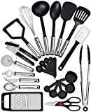 Home Hero Kitchen Utensil Set - 25 Nylon Cooking Utensils - Kitchen Utensils with Spatula - Kitchen...