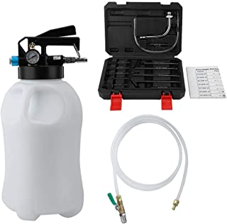 Suuonee Pneumatic Fluid Extractor, Pneumatic Fluid Extractor Automatic Transmission Engine Oil Change Machine Fuel Dispenser (10L)